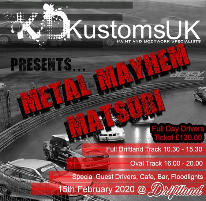 Metal Mayhem Matsuri @ Driftland